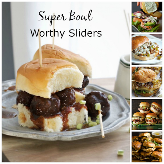 Super bowl Worthy Sliders