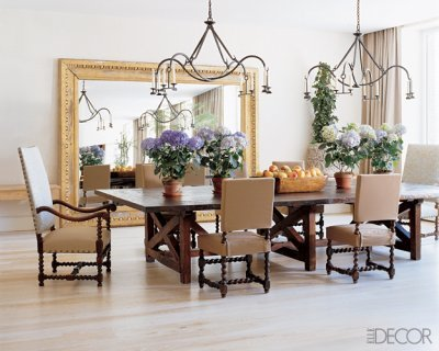 Elle Decor Oversized Mirror In Dining Room Omg Lifestyle Blog