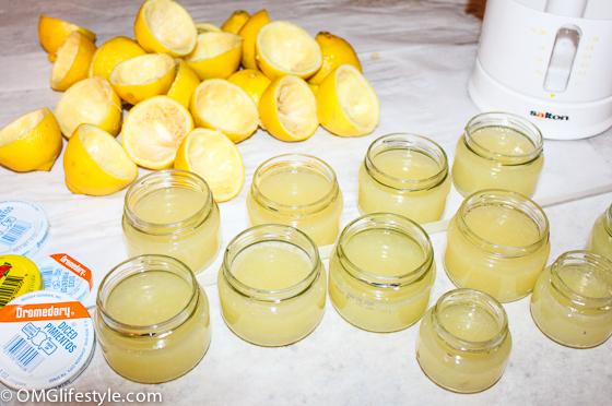 For Of Lemon Juice