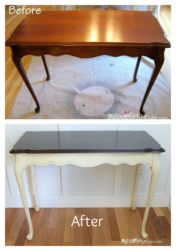 Before And After Table